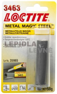 Loctite 3463 Metal Magic Steel - tyčinka 50 g